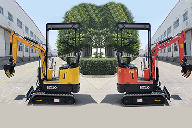 Precautions for starting a small excavator for the first time