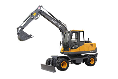What are the advantages of wheel excavators?